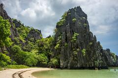 Hidden Beach (pietkagab) Tags: palawan hidden beach rock cliff water archipelago bacuit philippines asia pietkagab piotrgaborek photography pentax pentaxk5ii travel trip adventure island hopping holidays