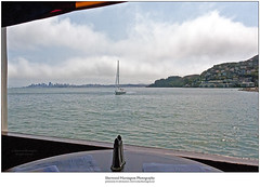Location, Location, Location (Sherwood Harrington) Tags: california sausalito trident restaurant view sailboat sanfrancisco sanfranciscobay water fog
