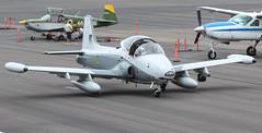 BAC 167 Strikemaster Mk. 80A N605GV (ChrisK48) Tags: royalsaudiairforce1114 aircraft airplane bac167 blueairtraining britishaircraftcorp dvt kdvt n605gv phoenixaz phoenixdeervalleyairport strikemaster cneepjp3681 mk80 mk80a ps327