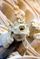 CARCASSONNE OLD CITY GARGOUILLES (patrick555666751) Tags: carcassonneoldcitygargouille carcassonne old city gargouille aude france europa occitanie cite de gargoyles