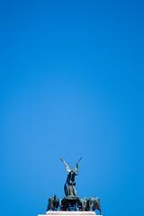 Gods & Heroes (Archer_fotero) Tags: estatua cielo diosa heroes marmol acero hierro metal escultura roma monumento