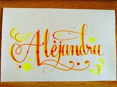 Alejandra #handletterin #handwriting #handmade #lettering #letters #marker #sharpie #lovecalligraphy #calligraphy #doodle #art #design #ink #handstyle #calligraffiti #handtype #escritura #typographyinspired #pencil #sketch #paper #tagnam (OscarInk25) Tags: sketch ink typographyinspired escritura paper handtype lovecalligraphy handwriting letters tattoo art posterman handstyle marker handmade timoteo lettering pencil blackletter calligraphymasters tagname calligraffiti sharpie inktechnique typography tattodesign doodle handletterin design calligraphy