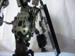 The Adversary 12 (quartzroolz) Tags: quartz roolz moc big burly man bionicle robot toa titan android bustersword guns skull spider mask god thats alot over design