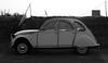 Citroën 2CV6 Spécial (Skylark92) Tags: citroen 2cv 2cv6 special white amsterdam netherlands nederland holland durgerdam durgerdammerdijk bw