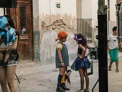 Disappointment (The Fresh Feeling Project*) Tags: fiestas nios pippi calzaslargas lngstrump disfraces nia girl disapointment desengao feeling portrait summer orange children sadness street streetphotography streetphotographer party verano village