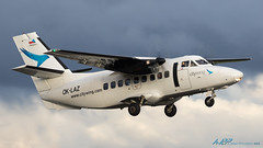 OK-LAZ L-410UVP-E Turbolet Citywing (kw2p) Tags: airport aviation egpf oklaz turbolet l410uvpe citywing egpfgla