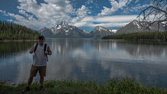 Me - Colter Bay - Grand Teton National Park - Wyoming - 21 June 2016 (goatlockerguns) Tags: mountain view hermitage point colter bay grand teton national park wyoming usa unitedstatesofamerica west western nature natural nationalpark lake pond forest trees tree trail