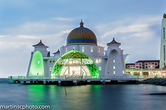 Mezquita flotante de Malaca (martinscphoto) Tags: malasia malaca mezquita flotante 2015 martinscphoto musulman