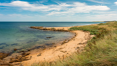 Tropical Look! (jc's i) Tags: beach east scotland kingsbarns summer 2016 nd filter d800 nikon