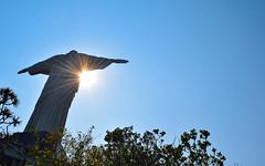 DSC_0054-2 (crismdl) Tags: cristo cristoredentor jesus jesuscristo rio rio2016 rj riodejaneiro corcovado sol soleil sun brasil bresil brazil