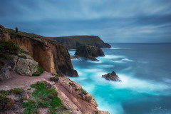 THE LAND'S END (Mark John Nepomuceno) Tags: landsend cornwall uk coast cliff atlantic longexposure leefilter 10stop