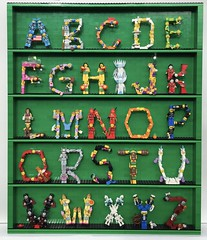 Minifigure Alphabet (Laurene J.) Tags: lego bricksbythebay bbtb2016 minifigurealphabet minifigure minifigs legoalphabet alphabet pilobolusalphabet pilobolus lettering bbtb 2016 bricksofcharacter legoletters legoabc legominifigurealphabet