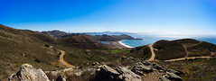 Coastal Trail View (Corey Hunt) Tags: headlands sanfrancisco nature ocean rocks sky panorama