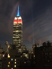 IMG_0479 (gundust) Tags: nyc ny usa september 2016 newyork newyorkcity manhattan architecture esb empirestatebuilding skyscraper september11th 911 tributeinlight xeon twintowers memorial remembrance night