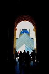 LOUVRE (Alex Bryant - Evans) Tags: paris parisian french france architecture louvre museum art glass pyramid