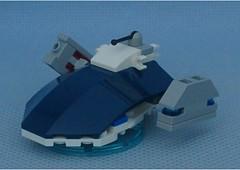 Soldier Landshark (Mantis.King) Tags: lego legogaming legomecha largestbrickchallenge landshark moc mechaton mobileframezero mfz mf0 microscale mecha mech hovercraft futuristic scifi tripletchallenge