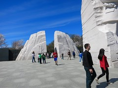Reds and Blues copy (LarryJay99 ) Tags: peopleurban urban men male man guy guys dude dudes reds bluesky blue mlkmemorial washington washingtondc monuments jeans shorts backpack sky