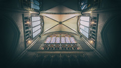 The Roof (paradycedesign) Tags: city church old urban architecture building music germany darkness cathedral light effects deutschland cologne dom kirche christian organ klner kathedrale orgel dark vs kln cornfield chase europe dome