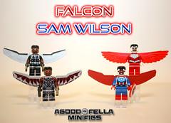 Falcon / Sam Wilson [VARIANTS] [MCU] [COMICS] (agoodfella minifigs) Tags: lego marvel marvellego legomarvel minifigures marvelcomics comics heroes legosuperheroes legomarvelsuperheroes legoavengers minifigure moc mcu marvelheroes mod falcon samwilson