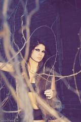 Apocalypse Stray (fringefalcon) Tags: world woman abandoned fashion vines model apocalypse end stray alternative
