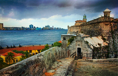 Havana View from El Morro