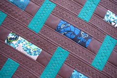 Baby Basket Weave Quilt (QOB) Tags: quilt patchwork qob babyquilts customquilting quiltsonbastings
