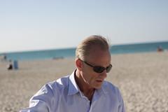 Dad At Jumera.II (Jonny Cairns) Tags: trip sea sun holiday beach sand dubai journey whitesand daytrip jumera