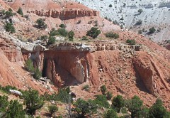 Angular unconformity - Flagstaff Formation over Twist Gulch Formation (Salina Canyon, central Utah, USA) 1 (James St. John) Tags: utah salt twist canyon formation flagstaff dome angular jurassic salina gulch tertiary paleocene tectonics unconformity paleogene