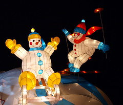 Frosty The Snowman! (Phyllis74) Tags: christmas snow ski snowman kentucky christmaslights louisville sled christmasdisplay kalightoscope christmasatthegalthouse
