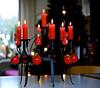 Merry Christmas and a Happy New Year (Fijgje On/Off) Tags: kaarsen kandelaar merrychristmasandahappynewyear leicaelmarit f2845mm panasonicdmcg1 fijgje totinhetnieuwejaar dec2012 vrolijkkerstfeesteneengezondengelukkignieuwjaar alheellangingebruik zweedsekandelaar benereventussenuit
