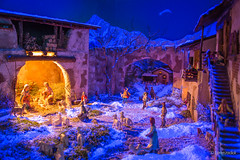 Buon Natale !!! Wish you all my friends a very Merry Christmas! (Lorenzoclick) Tags: italy milan colors canon milano 5d presepe nativityscene clinicasanpiox