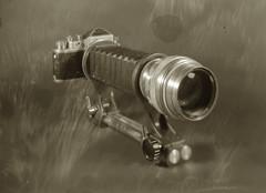 M39 macro rig. Classic and classy (O9k) Tags: camera stilllife macro film analog studio papernegative 4x5 zenit bellows largeformat 9x12 schneider viewcamera cameraporn selfdeveloped classiccamera belomo m39 homedeveloping symmar zenitc sinarp helios40 directpapershot