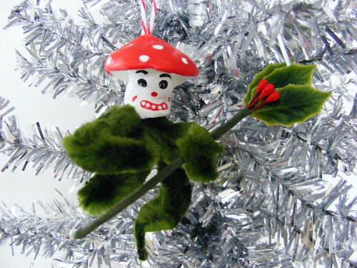 Magic Mushroom Chenille Ornament