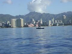 P1130131 (galleries@aspulver) Tags: sunset beach water sunrise hawaii diamondhead pearlharbor honolulu waikikibeach oahuhawaii honoluluhawaii waikikibeachoahuhawaii usarizonamemorial