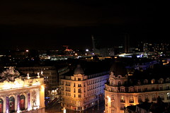 Lille (pixiprol) Tags: france skyline night de french hotel noche europa europe carlton place general north gaulle lille nor pas francia nuit calais nord eurolille
