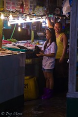 always smiling people (moyzie out and about) Tags: life old boy white fish man black chicken feet lady child market philippines mother filipino pinay filipina cavite pinoy bacoor molino3