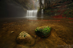 Beauty of the autumn day (Emmanuel Dautriche) Tags: autumn france green water nikon stones falls emmanuel franchecomte d700 dautriche blinkagain
