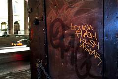 TOUCH / FLASH / KUSH / ASTAR (nshillingfordphotography) Tags: street london graffiti tag flash touch central tags illegal graff 2012 astar kush