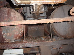 May's underside (DerekTP) Tags: diesel may railway loco swanage fowler 040 4210132