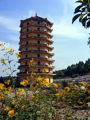 Jilin China September 2012 (asterisktom) Tags: china pagoda september  2012 jilin