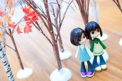 In The Winter Forest (WhyDolls) Tags: autumn trees winter snow fall forest toy woods doll figure pinkyst pinkystreet ako chika pk016 pk019