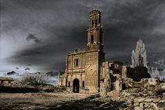 Iglesia de San Agustin (Jotha Garcia) Tags: ruinas iglesia san agustin belchite viejo zaragoza solarizacion ruins aragón españa spain canon paisaje landscape abandonado