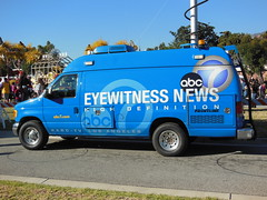 KABC-TV Channel 7 Eyewitness News Van (bigmikelakers) Tags: ford losangeles media abc network southerncalifornia affiliate newsvan eyewitnessnews circle7 kabctv