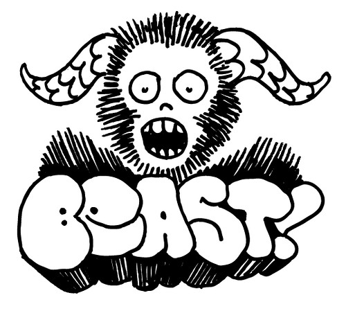monster cartoon beast
