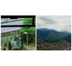 (begoa ml.) Tags: city summer espaa mountains 50mm spain diptych ciudad bilbao verano nikkor t euskadi bilbo basquecountry montaas 2012 pasvasco artxanda dptico nikond60 funiculardeartxanda