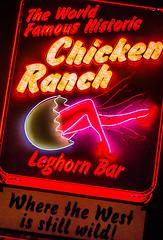 Historic Ranch (Roadsidepeek) Tags: ranch chicken sign bar neon nevada roadtrip historic signage roadside brothel pahrump roadsidepeek