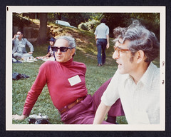 Fashionable man at a September 1976 CSHL Meeting (CSHL Archives) Tags: 1976 cshl coldspringharborlaboratory