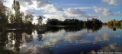 Panoramique 2_Lac Daumesnil (Vincennes) (S. Mezab) Tags: lac paysage reflets couleursdautomne environement efs1785usm canoneos600d vincnnes boisdevincnnes