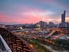 ::Amazing Moment:: (Zawawi Isa) Tags: pink sunset urban landscape photography nikon exposure cityscape photographer sigma flame malaysia kualalumpur moment bangsar sigma1020mm nikonflickraward