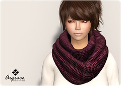 [New Arrival] Infinity scarf (ARGRACE) Tags: fashion scarf sl secondlife accessory chunkyscarf argrace infinityscarf